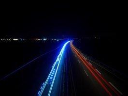 Autobahn bei Nacht (Foto: Polizei RLP)