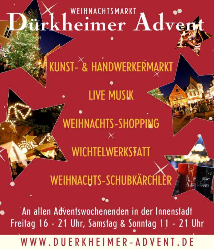 Dürkheimer Advent (Quelle: Stadtverwaltung Bad Dürkheim)