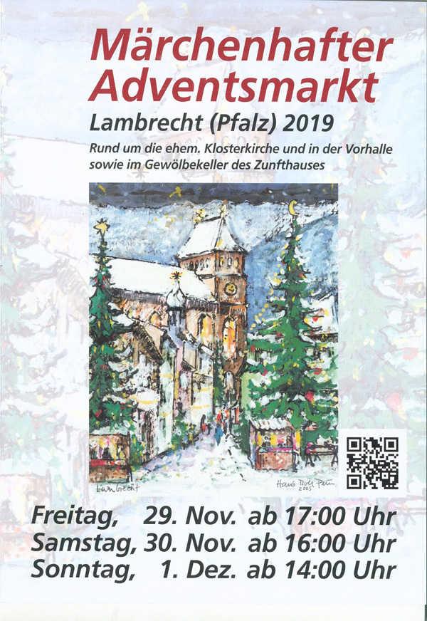 Märchenhafter Adventsmarkt in Lambrecht