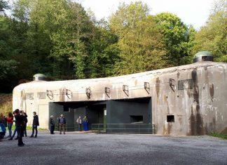 Gehört zu den wenigen Werke der Maginot-Linie, die besichtigt werden können: das gewaltige Fort Schoenenbourg südlich von Wissembourg beeindruckte die Jugendlichen besonders (Foto: Bezirksverband Pfalz)