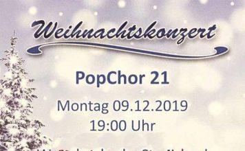 Weihnachtskonzert PopChor 21