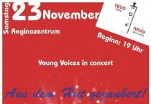 Konzert der Young Voices