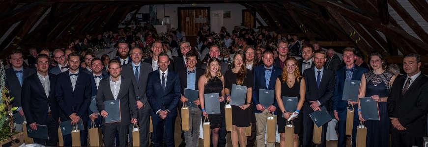 Gruppenbild der Absolventen 2019 (Foto: Weincampus Neustadt )