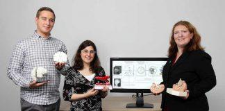 Robin Maack, Katharina Roth und Dr. Christina Gillmann