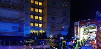 Einsatz in der Robert-Stolz-Straße (Foto: Feuerwehr Neustadt)