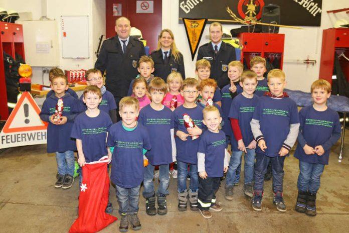 Die erste Bambini-Feuerwehr der Freiwilligen Feuerwehr Neustadt (Foto: Anke Luipold)