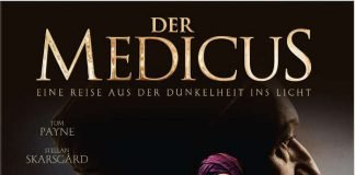 """Plakatmotiv zur Ausstellung """" Medicus – Die Macht des Wissens"""", die an dem 8. Dezember 2019 im Historischen Museum der Pfalz zu sehen ist. (Quelle: Historisches Museum der Pfalz Speyer)"""
