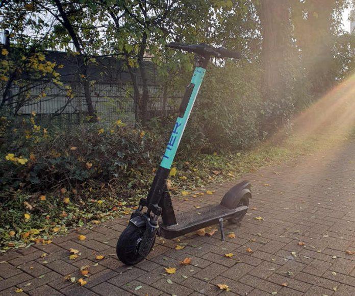 E-Roller (Foto: Holger Knecht)