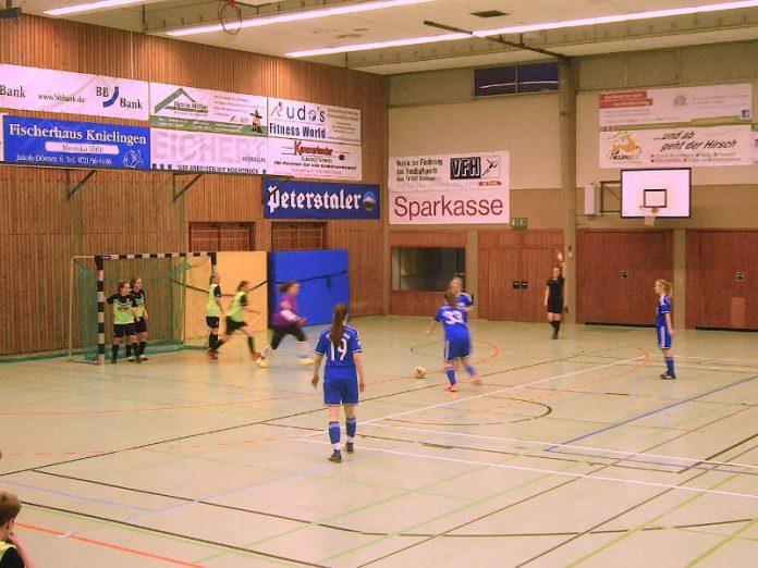Futsalspiel im Frauenfußball (Foto: Hannes Blank)