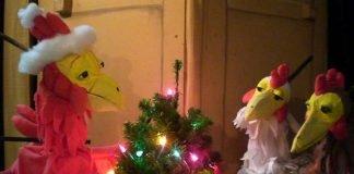 Morgen kommt der Weihnachtshahn (Foto: Figurentheater Hille Puppille)