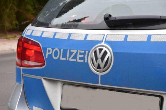 Symbolbild, Polizei, Auto, Heck, Neutral (pxhere)