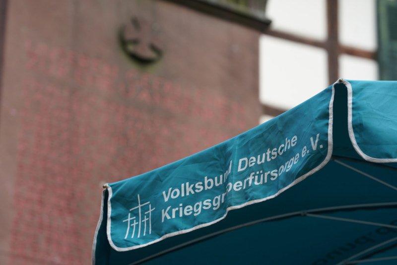 Volksbund-Stand (Foto: Holger Knecht)