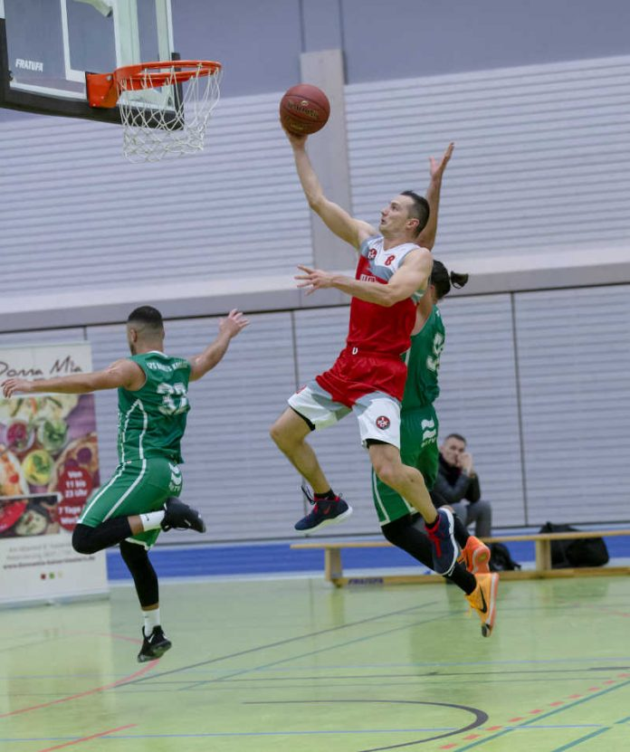 FCK Basketballer Gergely Puska Hosszu