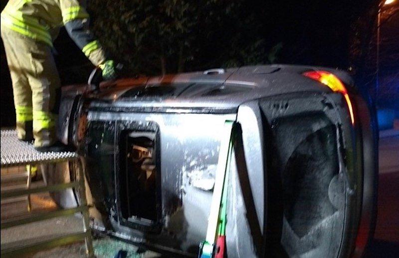 Der BMW war nicht mehr fahrbereit. (Foto: Polizei RLP)