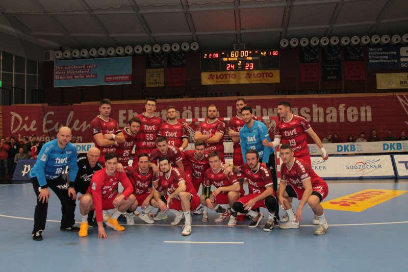 Die Handballer der Eulen Ludwigshafen bestreiten am 9. Januar ein Benfizspiel in Hockenheim (Foto: Michael Sonnick)