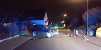 Der Verkehrsunfallverursacher blieb unverletzt (Foto: Polizei RLP)