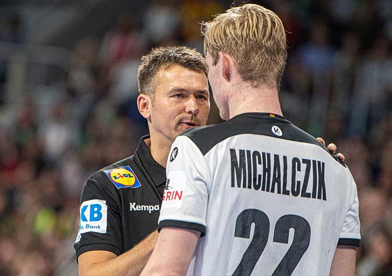 Mannheim Handball Nationalmannschaft Deutschland Island (Foto: Helmut Dell)