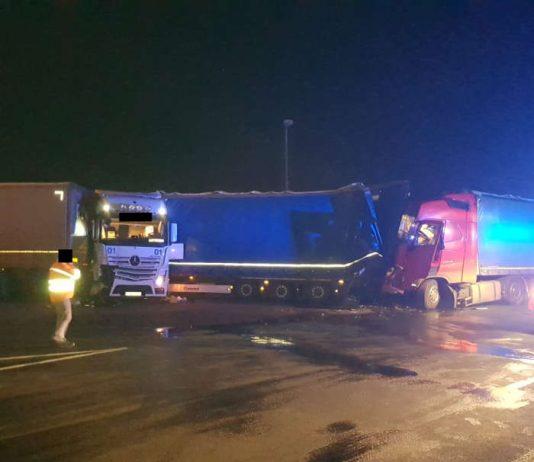 Der Unfallort (Foto: Polizei RLP)