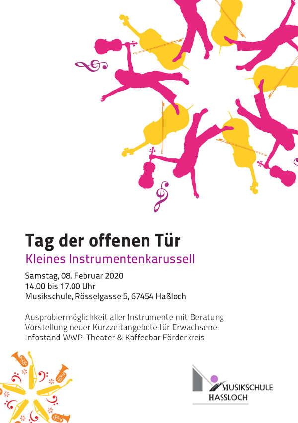 Plakat Tag der offenen Tür