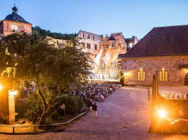 Heidelberger Schlosshof (Foto: Susanne Reichardt)