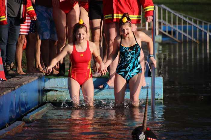 Simmern Neujahrsschwimmen 2020