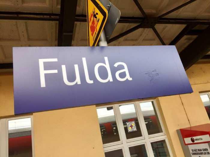 Symbolbild, Bahnhof Fulda © Bundespolizei