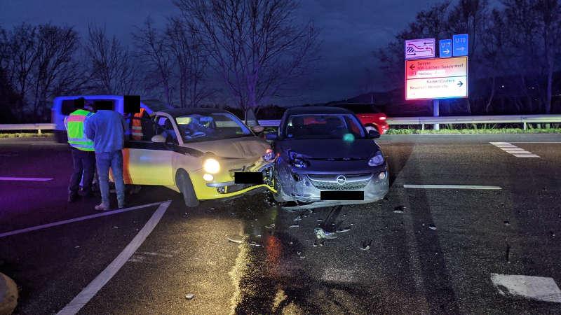 Unfallörtlichkeit B39 (Foto: Polizei RLP)
