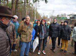 CDU-Winterwanderung 2019 – Interessierte Teilnehmer und Teilnehmerinnen. (Foto: CDU Haßloch)