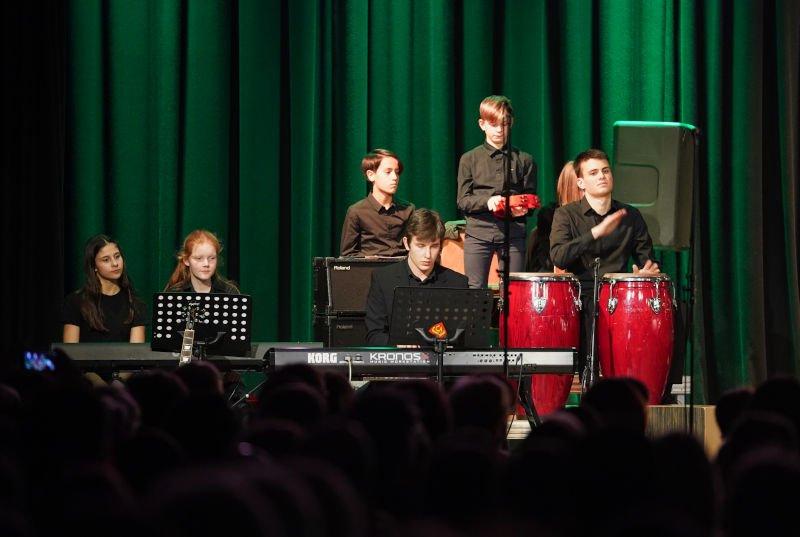 Neustadt Leibniz-Gymnasium Valentinskonzet 2020 (Foto: Holger Knecht)