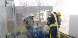 Einsatz in der Landwehrstraße (Foto: Feuerwehr Neustadt)