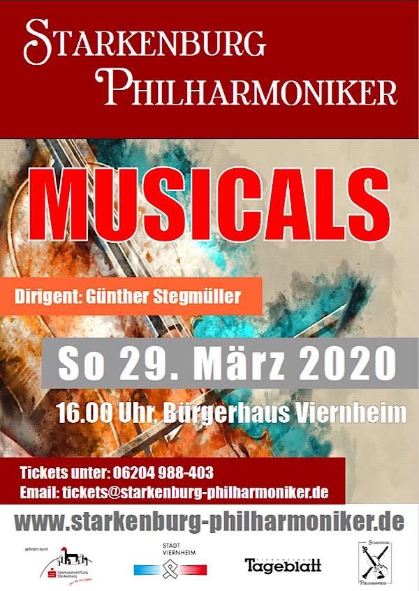 Musical-Highlights am 29. März 2020