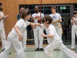 Beim Training lernen die Kinder, ein Gefühl für ihre anderen Sinne zu entwickeln (Foto: Cyril Bitterich)
