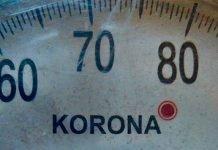 Waage des Fabrikats Korona (Foto: AHA - UnterwegsTheater - gemeinnützige GmbH)