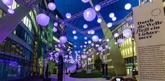 Visualisierung Luminale 2020 - Die Welle (Foto: Die Welle Frankfurt / activ consult real estate gmbh)