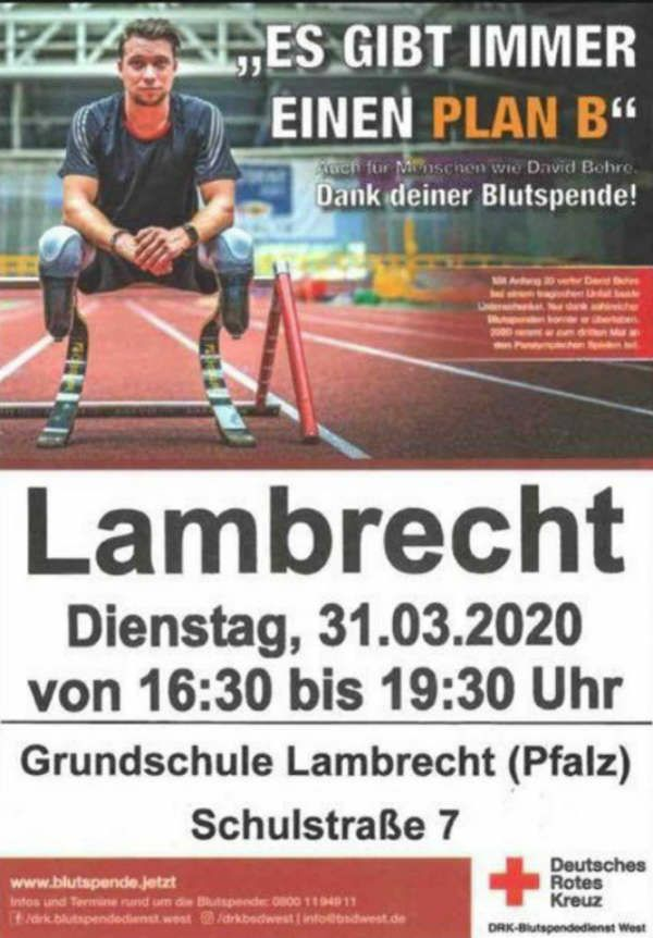 Blutspenden in Lambrecht