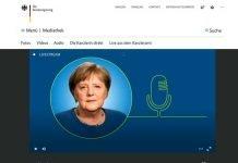 Screenshot Bundesregierung.de