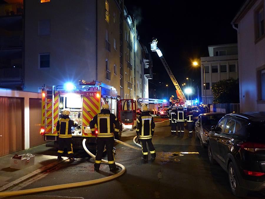 Die EInsatzstelle (Foto: Feuerwehr Neustadt)