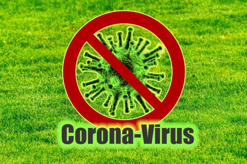 Symbolbild Coronavirus Fußball