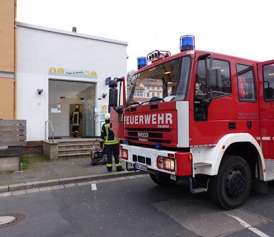 Brand im Hauptbahnhof (Foto: Feuerwehr Nustadt)