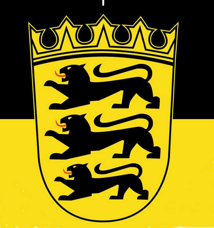 Symbolbild, Wappen, Baden-Württemberg, BW © on Pixabay