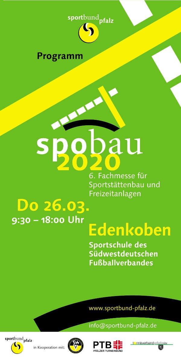 Spobau 2020 (Quelle: Sportbund Pfalz)