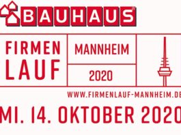 Logo BAUHAUS Firmenlauf Mannheim
