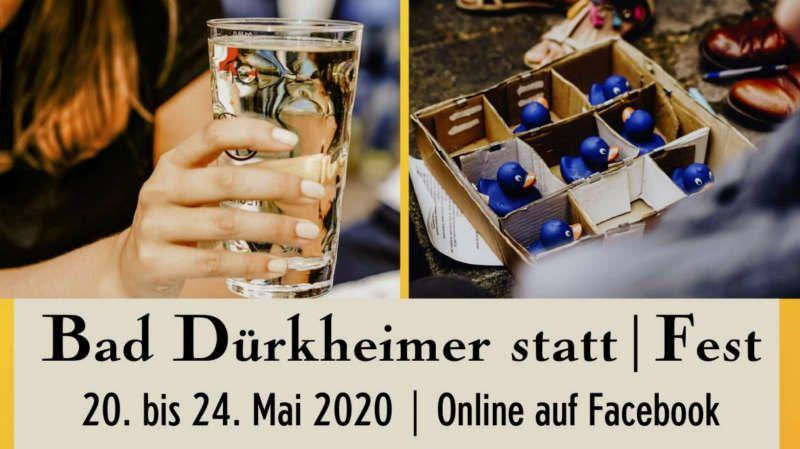 statt Fest statt Stadtfest (Quelle: Stadtverwaltung Bad Dürkheim)