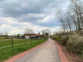 Komfortabler Radfahren: Die Stadt Landau hat den Radweg zwischen der Alten Bahnhofstraße in Dammheim und der Fichtenstraße im Stadtteil Horst ausgebaut. (Quelle: Stadt Landau)