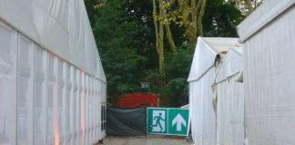 Notausgang Festivalabsage? (Foto: Hannes Blank)