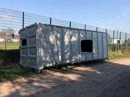 Entwendeter Container (Beispielbild) (Foto: Polizei RLP)
