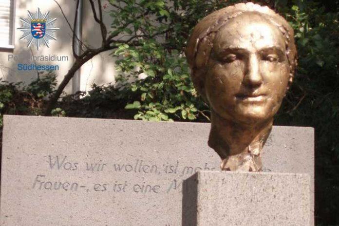 Gestohlenes Objekt: Luise Büchner Kopf