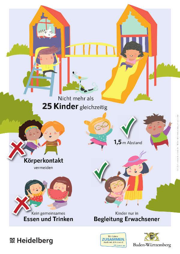 Spielplatzschild (Foto: Stadt Heidelberg)