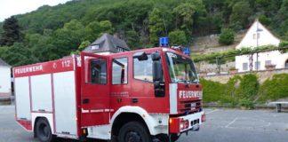 Feuerwehrfahrzeug in Haardt (Foto: Feuerwehr Neustadt)