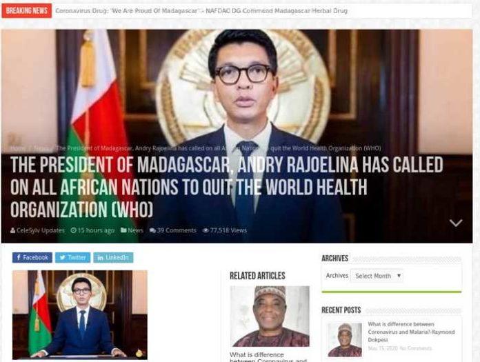 Screenshot http://www.celesylvupdates.com